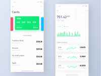 Finance UI design