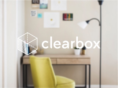 Clearbox Logo app branding logo logo design