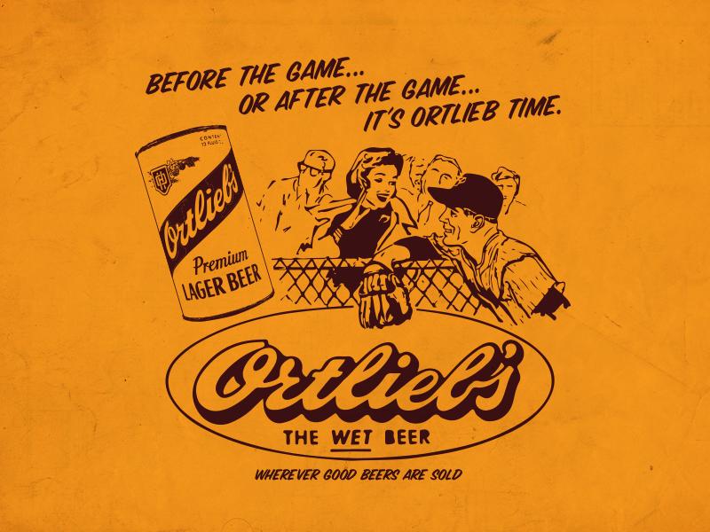 07676d817ff T-Shirt Design for Ortleib s t-shirt design drawing tee shirt retro vintage  illustration