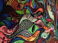 Random Shapes Illustration + colors