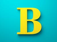 B - Bodoni