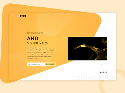 Coming soon desktop clean comingsoon ux-design minimal-ui website