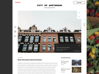 Blog post - Amsterdam