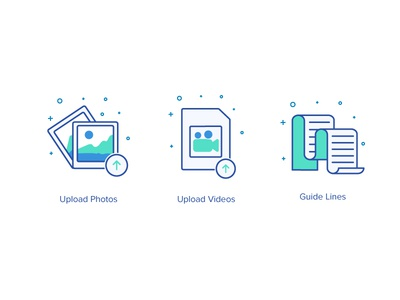icons sets minimal motion video ui photos mobile lines guides ai illustration icons