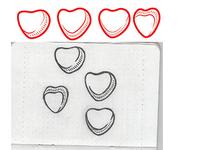 Vector Hearts