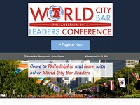 World City Bar Leaders Conference