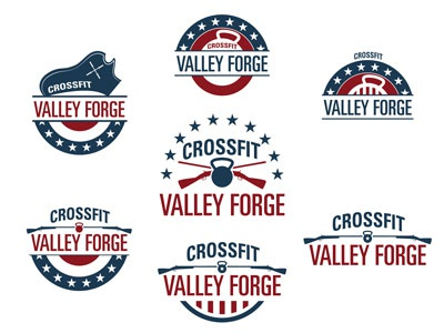 CrossFit Valley Forge Contact Sheet crossfit valley forge logo america flag stars