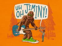 Uh Oh Jiminy - Album Art