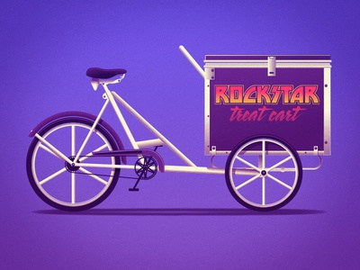 Rockstar Treat Cart