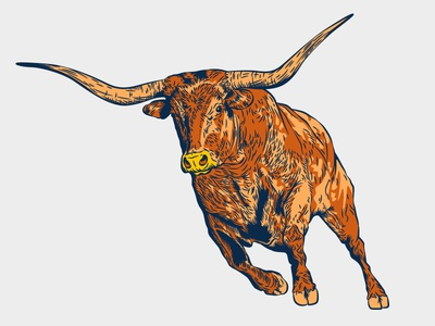 Longhorn designs, themes, templates and downloadable graphic