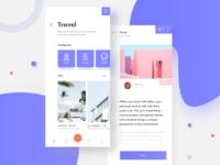 Travel App UI📱