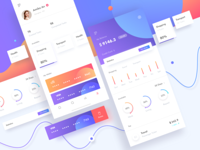 Dashboard 02 ux ui mobile minimal interface infographic exchange data dashboard app admin