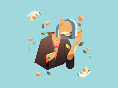 Pamanrez character characterdesign illustrator design animation flat illustration