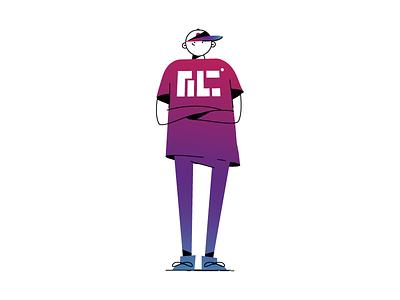 Cool Kids V.3 #Vectober characterdesign illustrator design flat illustration