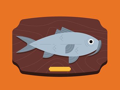 Todo se lo debemos al Bagre 🐟 sea flat illustrator illustration fish bagre