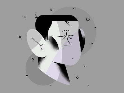 feelings draw art ipad procreate app simple head feeling sad procreate vector characterdesign motion illustrator design aftereffects animation flat illustration