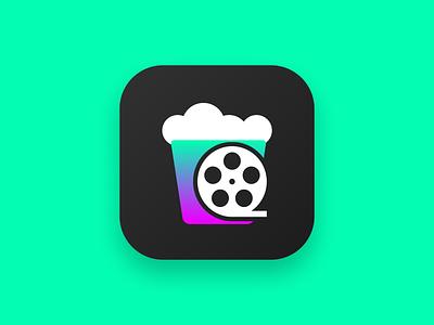 Daily UI #005 - App Icon - Cinema Cibus dailyui005 dailyuichallenge dailyui icon ios appicons appicon