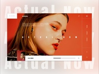 Actual Now Collection - Fashion E-commerce Landing