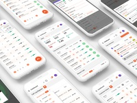 vCalling Dashboard Mobile Screens