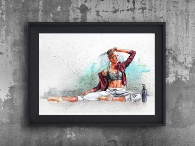 Watercolor Kathryn