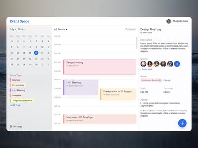 Event Booking Desktop App
