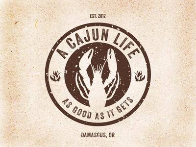 A Cajun Life Food Cart Logo