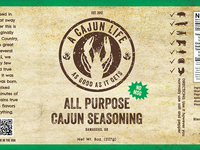 A Cajun Life Packaging