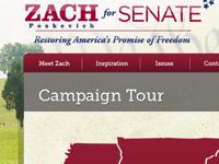 Zach for Senate Interior Web pg