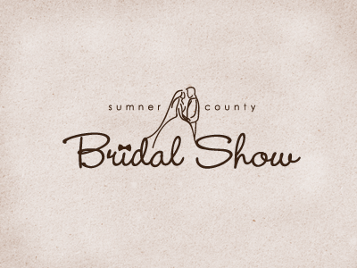 Sumner Co. Bridal Show Logo Final logo vector script bridal weddings