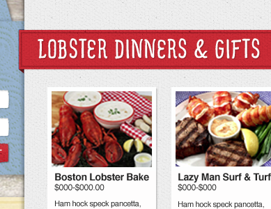 lobsteranywhere.com homepage section