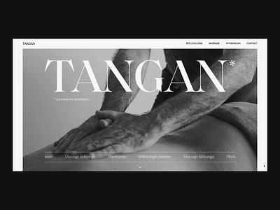 Tangan webdesign branding design animation ux ui