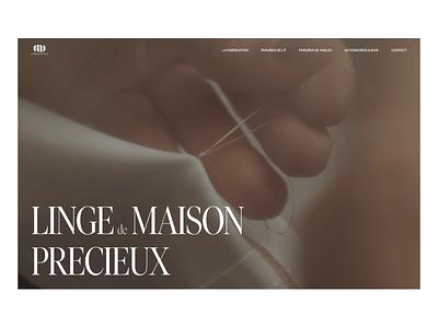 AD Exploration_AigreDoux dark textile luxury design ux ui branding