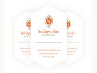 Kelley Jordan Photography Business Cards