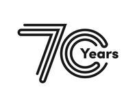 70th Anniversary Brand Badge