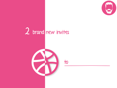 2 hot invites for Dribbble player draft dribbble invite