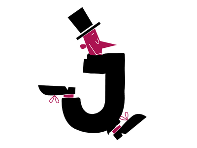 J for 36daysoftype lettering font cartoon comics character fontstyle j word