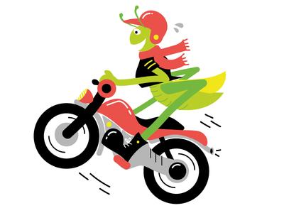 motorbike grasshopper