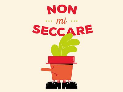 Sunday mood draw vector lettering fontstyle illustrations plants mood sunday