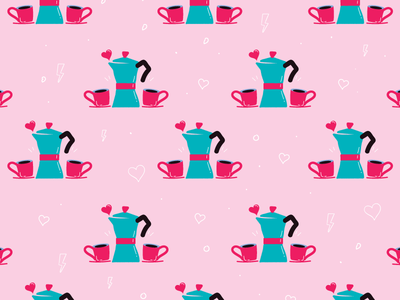 Valentine's day wallpaper - coffee in love