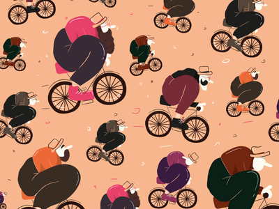 Crazy hipster graphicdesign shapes art character picture vintage character art cartoon character cartoon comics illustration crazy visual vector art vector cyclist bike hipster texture pattern