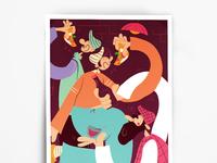 A3 poster mockup vol 12