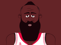 James Harden portrait