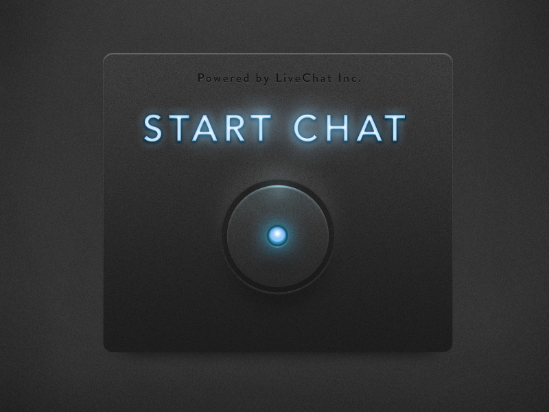Chat Button for Websites button chat glow flashing glowing launch neon start livechat lighting futuristic 2013