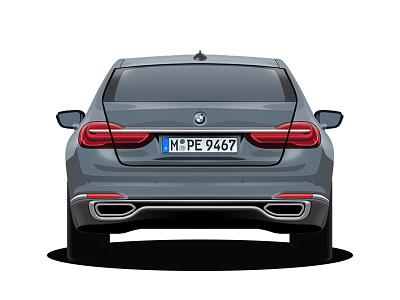 BMW 750Li xDrive  xdrive 750 car bmw