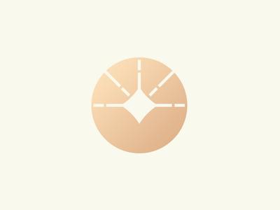 Financial logo concept