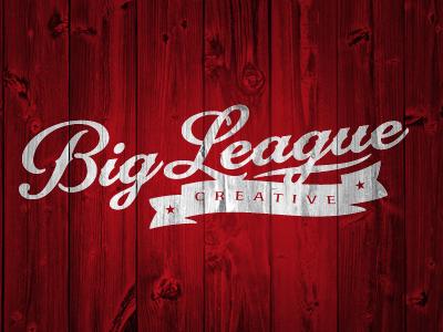 Big League Creative logo by Brian Hostetler on Dribbble