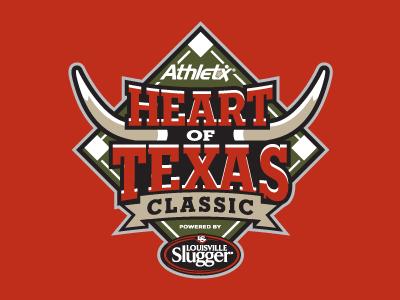 Heart of Texas Classic baseball logo sports texas longhorns diamond tournament little league