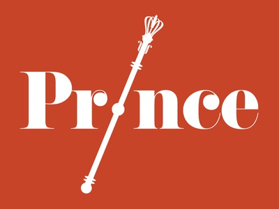 Prince red type royal prince typography