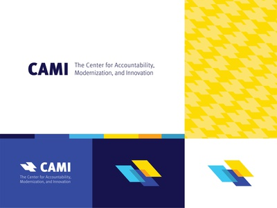 CAMI Branding identity design pattern abstract branding logo