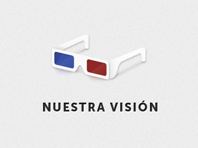 3D Glasses icon 3d glasses vision icon simple